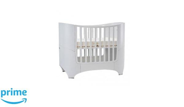 Leander baby und kinderbett buche white ral9016 : amazon.de: baby
