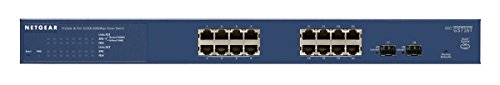 NETGEAR GS716T-300EUS ProSAFE 16-Port Gigabit Smart Managed Switch