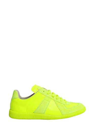Maison Margiela Sneakers Uomo S37ws0389s4879691 Pelle Giallo