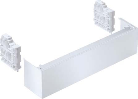 Miele&Cie. 9456070 Sockelblende Stand 2, weiß