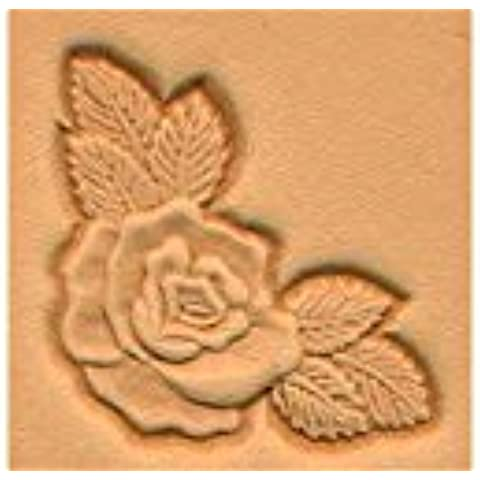 Rose Corner 3d Leather Stamping Tool by Tandy Leather