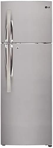 LG 308 L 2 Star Smart Inverter Frost-Free Double Door Refrigerator (GL-T322RPZY, Shiny Steel, Convertible)
