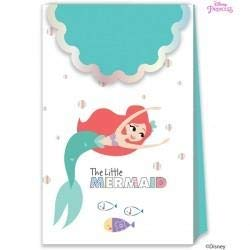 Disney Princess- Bolsas de fiesta, Color turquesa (Procos 79104)