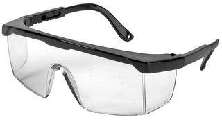 Unbekannt Safety Glasses Wraparound, Clear Lens 8E20C