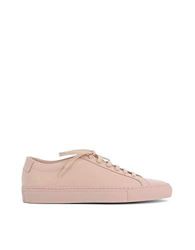 COMMON PROJECTS Damen 37012015 Rosa Leder Sneakers