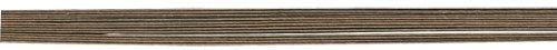 RAYHER hobby 2403705–calibre, recouvert de 50 cm (0,55 mm de diamètre-sachet lot-d.braun de 12