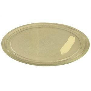 LG / Goldstar – Plato giratorio para microondas (24,5 cm, sin lengüeta central)