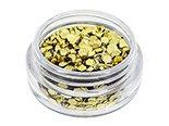 Grosses Paillettes scintillantes GOLD trendy Nail Art,
