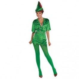 Peter Pan (Weibliche Peter Pan Kostüm)