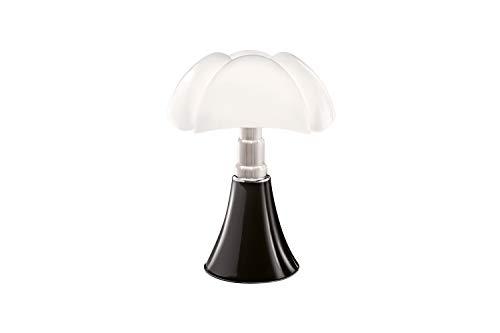Martinelli Luce 620 / non Pipistrello lampada da tavolo, nere, 2 pezzi