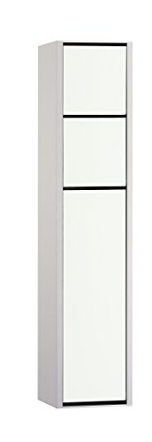 emco asis WC-Modul (150) AP-Modell, 787mm, Alu/Optiwhite