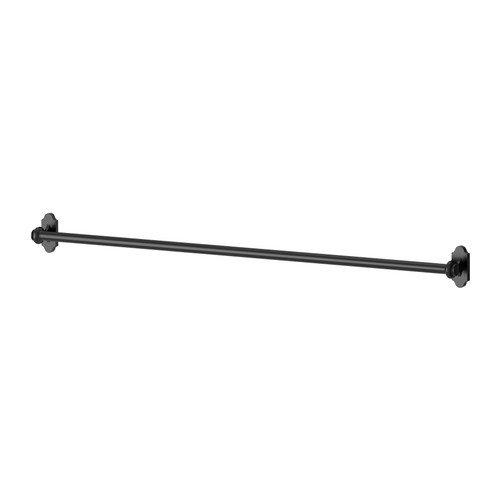 Ikea FINTORP-Schiene, schwarz-79cm