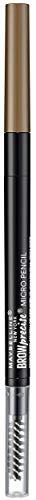 Maybelline New York Brow Precise Micro Pen, Matita per le Sopracciglia, Soft Brown