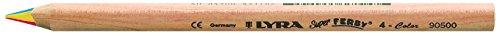 LYRA Super Ferby 4-Color Kartonetui mit 12 4-Colorstiften, Sortiert