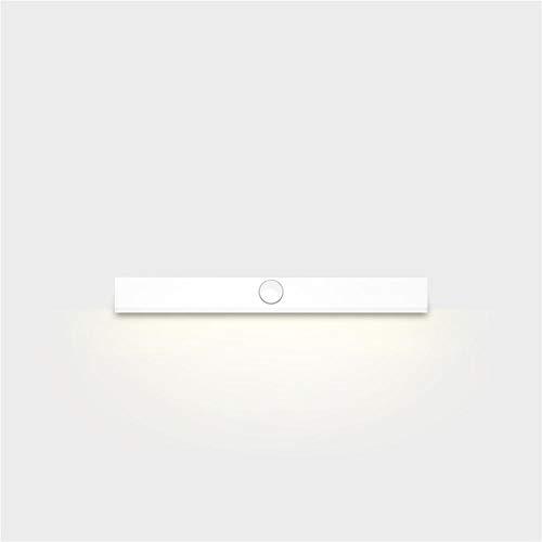 LED Nachtlicht Spiegel Scheinwerfer Bad Kosmetikspiegel Spiegel Bad Make-up Lampe Schrank Körper Sensor Licht - weißes Licht -