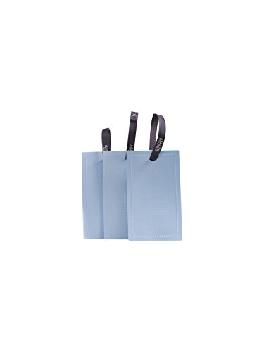 Millefiori 66TGOW Ocean Wind Duftkarten für Kleiderschrank Laundry 3 Stück, Andere, Hell Blau, 3.3 x 10.3 x 15.4 cm, 1 Einheiten (1 Schublade-einheit)