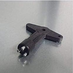 OPEL Ford Renault Key Rim Lock Rim Key Security Screws Alloy Wheel Single Centre Cap