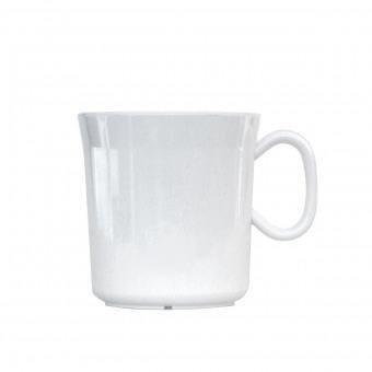Waca Melamin-Henkelbecher, weiss - 400 ml