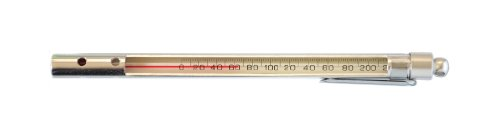 thermco Red Spirit gefüllt Pocket Test Thermometer mit Aluminium Fall, Total Immersion, With Armored Case, -35 to 50°C Range, 1.0°C Division, 1 (Pocket-thermometer Test)