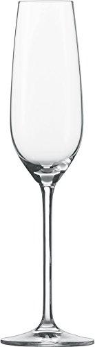 Schott Zwiesel 112494 Sektglas, Glas, transparent, 6 Einheiten