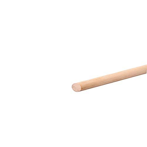 1x Buche Holzdübel Glatt - 300mm länge, Ø 4mm