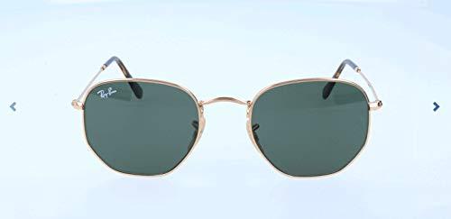 Rayban Unisex Sonnenbrille Rb3548n Gestell: Gold,Gläser: grün 001), Medium (Herstellergröße: 51) (Für Herren Glas-ray-ban)