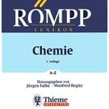 Römpp Chemie- Lexikon A- Z. 9. A. inkl. Updates CD- ROM