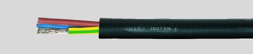 Preisvergleich Produktbild Gummikabel H07RN-F 5G6 qmm (Preis für einen Meter,Lieferung erfolgt in einer Länge)