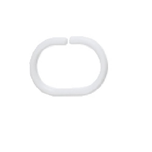 Spirella 1040075 Duschvorhangringe C-MINOR WHITE 12 Stk. thumbnail