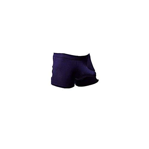 Dtuta Sexy UnterwäSche Herren Boxershorts Shorts Modale Atmungsaktive Waffe Ei Spaß Trennung Flugzeughose