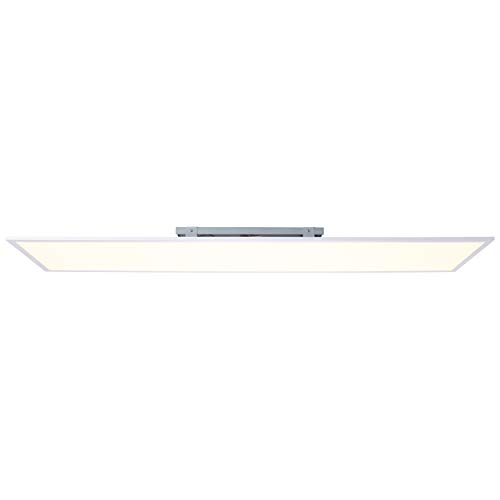 Brilliant Charla LED Deckenaufbau-Paneel 120x30cm Panel flächiges Licht weiß/warmweiß 3600 Lumen, LED integriert