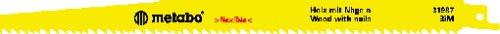 Preisvergleich Produktbild Metabo 5 Säbelsägeblätter BiM 300 x 1,25/3,2-5,1, 631987000