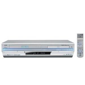 JVC HR-XVS30E DVD-Player silber