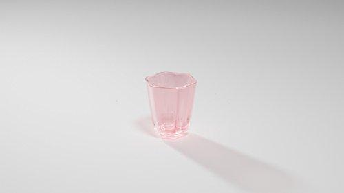 Madea Milano klar Collection–Vielseitige Gläser transparent/blau/pink/grau–MADE IN...