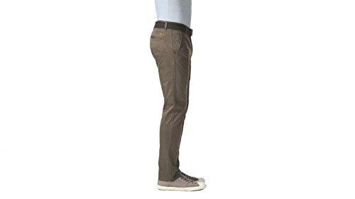 Dockers -pantaloni casual Uomo Stretch - Dark Pebble