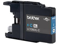 BROTHER LC1280XLC Tinte cyan 1200Seiten fuer MFCJ6510DW MFCJ6710DW MFCJ6910DW MFCJ5910DW