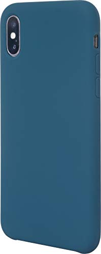 JT Berlin Liquid SilikonCase Schutzhülle Steglitz für das Apple iPhone Xs / X - blau [