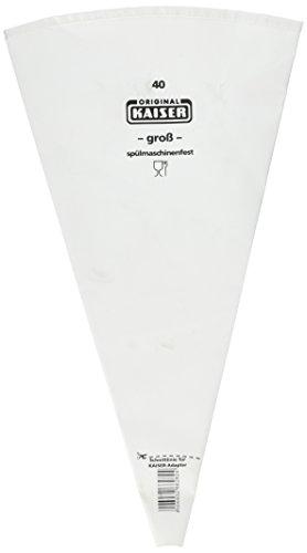 Kaiser Profi-Spritzbeutel, 40 cm, stabil, kochfeste Baumwolle, Innenbeschichtung, wiederverwendbar