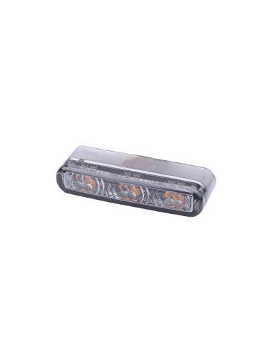 SHIN YO Shorty 2 Pro Motorrad SMD-LED Brems- / Rücklicht, Blinker Einheit, E-geprüft (2er Pack) (Led Brems-rücklicht)