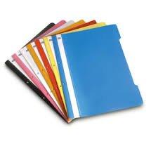 MAS 10 Schnellhefter DIN A4 / PP / extra stark / 10 verschiedene Farben