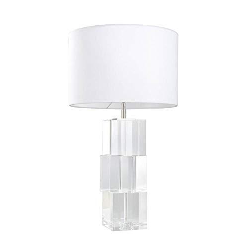 JFHGNJ lámpara de mesa Lámpara de mesa de vidrio Lámpara de mesa ...