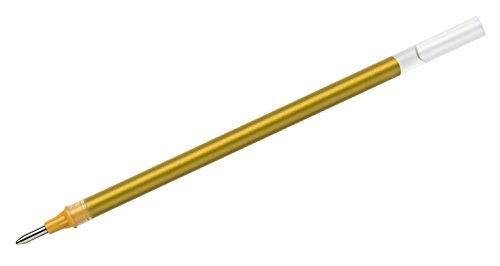 MITSUBISHI 146910-Confezione da Ricariche per Uni-ball Signo UM 153, Broad, 1mm, oro