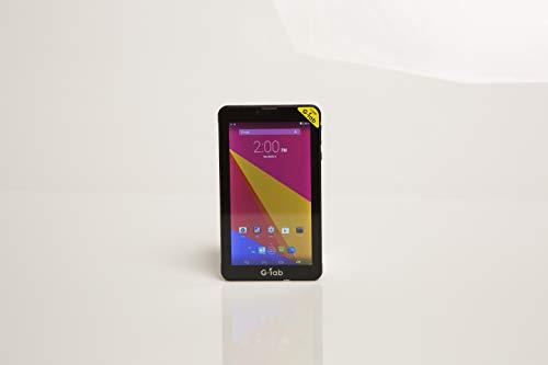 G Tab P706M Dual SIM Tablet - G-Tab P706M Dual SIM Tablet - 7 Inch, 8GB, 512MB RAM, 3G, WiFi, Black