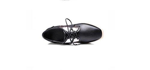 Beauqueen Chaussures Plateforme Pumps Femmes Printemps Et D'été Talon Pente Plat Talons Gris Ailes Femmes Or Noir Chaussures Occasionnels Taille Spéciale Europe Taille 34-43 Gold