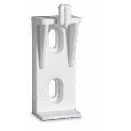 Soporte de radiador de 1 uña de nylon