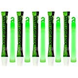 icks, 6 Long, 12 Hour Duration, Green (Pack of 12) by GlowMind ()