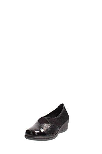 Grünland Sotchi SC1833 chaussures noires danseuse type de confort zeppetta Nero