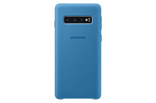 Silicone Cover für Galaxy S10 Blau -