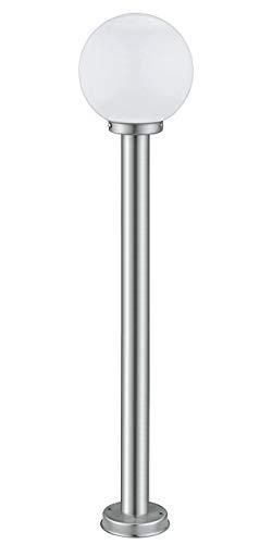 Eglo 30207 illuminazione da esterno colonna/luce a lampione da esterno acciaio inossidabile e27 60 w