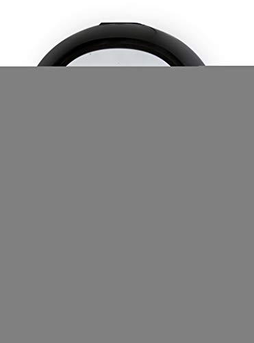 Domo Deli-Fryer Airfryer Heißluftfritteuse XXL Fritteuse 5,5 l DO513FR, Metall antihaftbeschichtet, schwarz/silberfarben